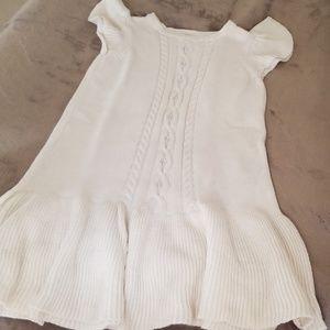Gymboree knitted girls dress